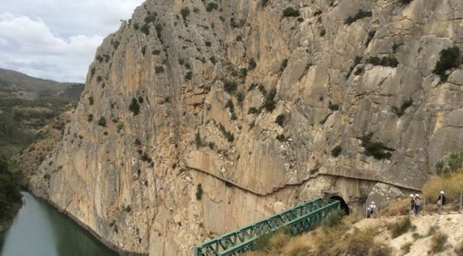 14 June 2015 Walked with my son Duncan the caminito del rey, a 7,7 km long path …