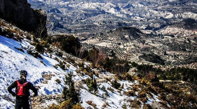 Sunshine and snow in the Costa Blanca mountains! There are some great trails and…