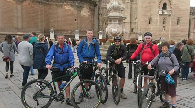 """After a long time in the planning, today we started our tour along the """"Via de l…"""