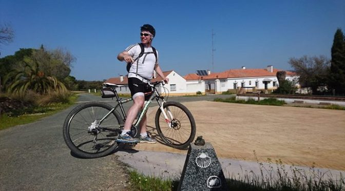 Day two on the Via de la Plata, beatiful countryside, great weather and a few mo…