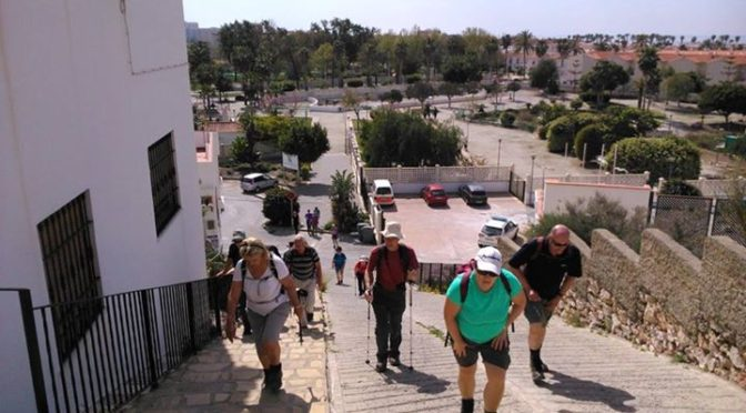 Our one week Walking holiday through the Eastern Andalucia region. Salobrena, Al…