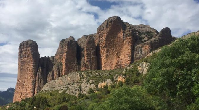 Out hiking around the Mallos de Riglos yesterday on our Riglos & Alquezar holida…