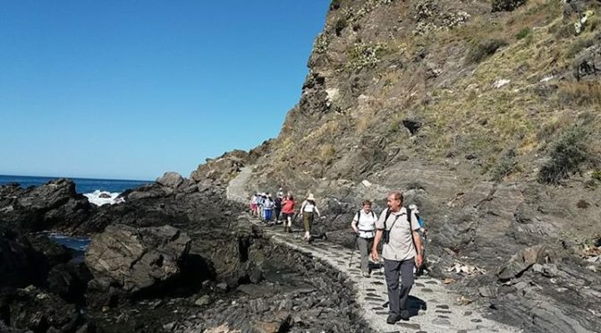 Our PTS Group for early May.Our group walking holiday in Almuñecar, Salobreña, A…