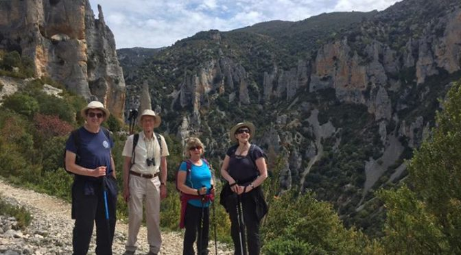 Final days hiking on our Riglos & Alquezar holiday. In the Mascun canyon and the…