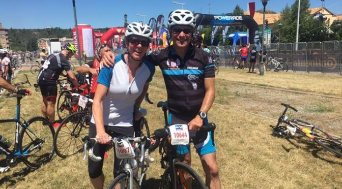 Finished the race. Phil in 3hrs 51 and Hannah 3hr 58 – both under 4 hours so we …