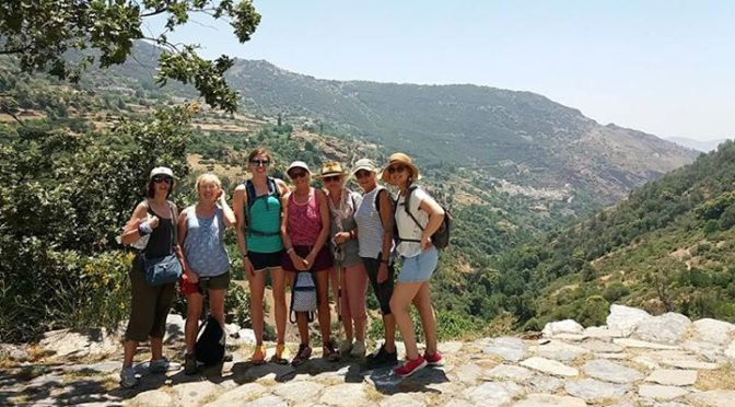 A positively cool 35 degrees in Alpujarras today. Well done gang…..
