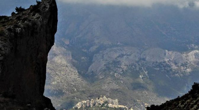 The spectacular scenery of the Guadalest Valley can be explored on foot or by bi…
