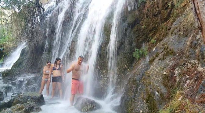 Waterfalls of La Axarquia