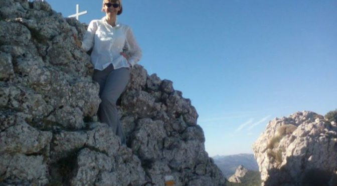 Day on the Sierra Serrella. Perfect autumn weather.    #mountainwalks  #Spain