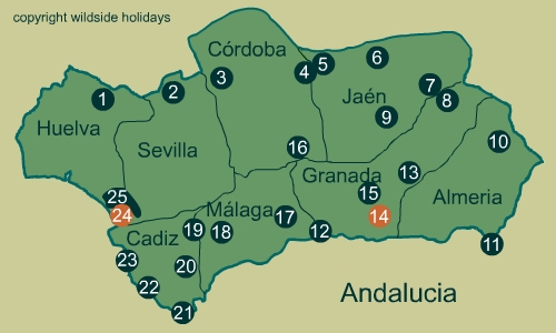 Natural Parks in Spain - Andalucia