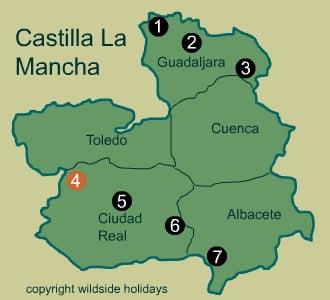 Natural Parks in Spain - Castilla la Mancha