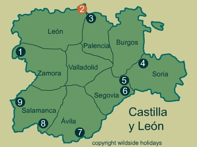 Natural Parks in Spain - Castilla y León