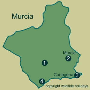 Natural Parks in Spain - Murcia