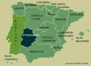 Extremadura is one of Spain's most sparsely populated regions which makes it a wonderful area to study the nature.