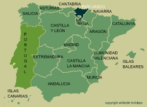 The Basque Country in Spain
