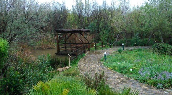 El Aljibe Botanic Gardens in Alcalá de los Gazules