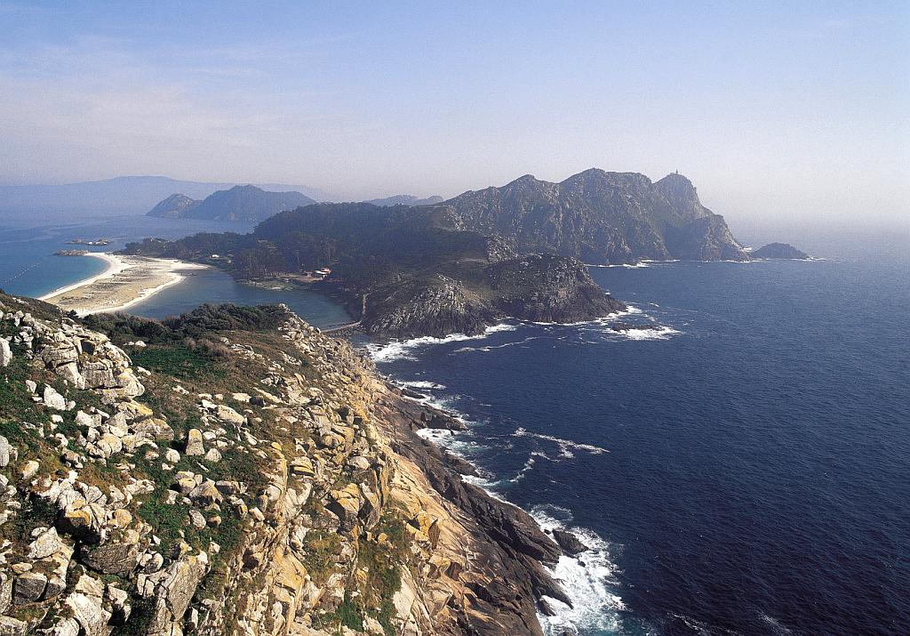 The Islas Atlánticas National Park are known in English as the Galician Atlantic Islands Maritime-Terrestrial National Park.