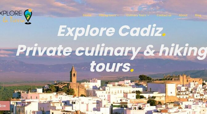 Based in the village of Vejer de la Frontera, Explore la Tierra is focused on wildlife, walking, local gastronomy and cultural tours of the beautiful villages of Cadiz.