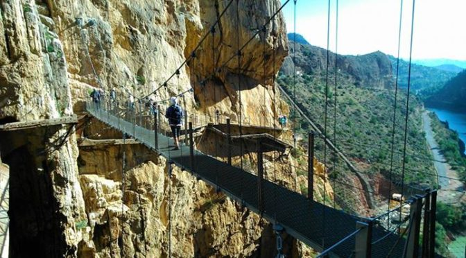 Recce Hike Caminito del Rey.   Yeah, this'll work :-)