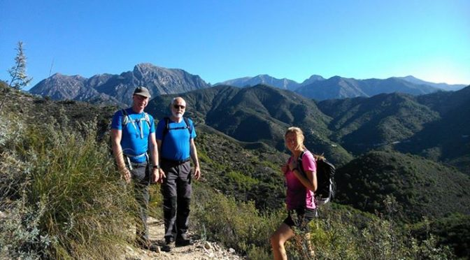 The Lonesome Pine Hike Friday 23 December 2016 with Bjarne, Nigel and Helena and…