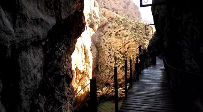Tuesday 20 December Caminito del Rey. Test hike for further excursions. It went …