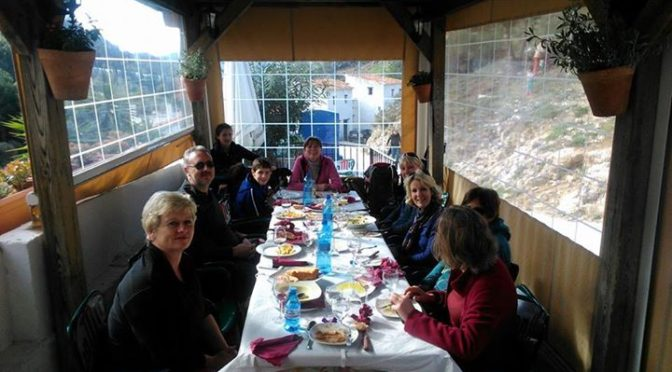 The Hidden Village Walk Saturday 31 December 2016. The last one of the year