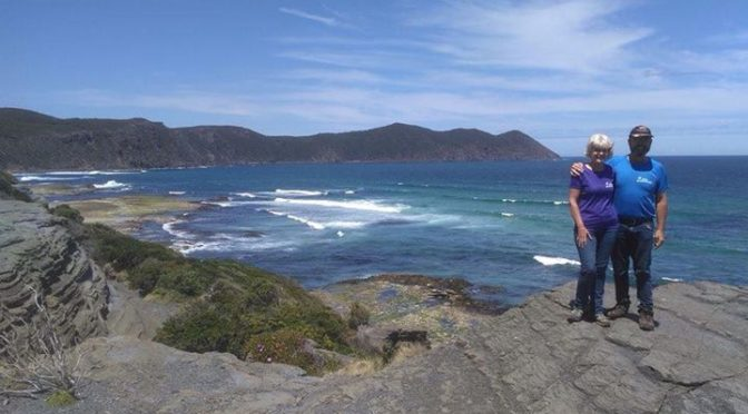 Hike Pyrenees t-shirts out coastal hiking in Tasmania! Thanks for the promotion …
