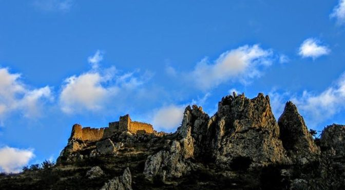 Confrides Castle, a great place to explore on a walking holiday in the Costa Bla…