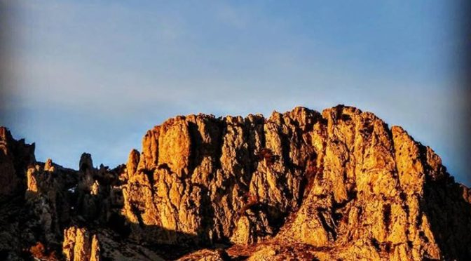 Pla de la Casa at sunrise. Look at those amazing rock pinnacles, they are well o…