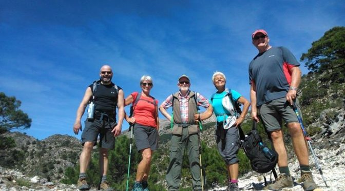 We walked from Sedella to salares to Canillas Del Albaida to Competa on Day 1. (…