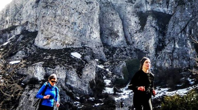 Beneath the North face of the Sierra Aitana. The highest peak in Valencia offers…