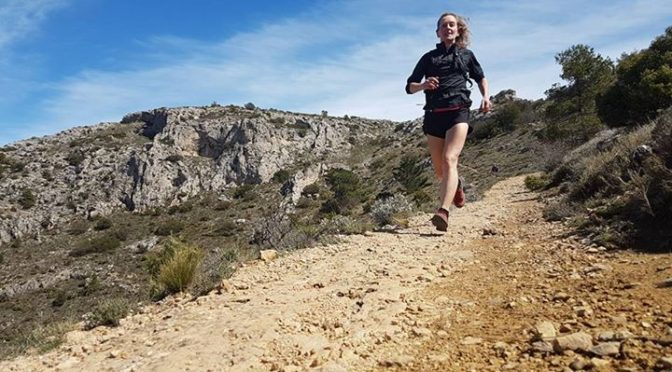 Great trail running today around the Montecabrer circuit!