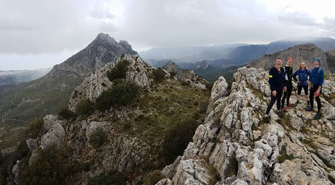 Two iconic summits today,  the Monte Ponoche and the Puig Campana. Fabulous wild…