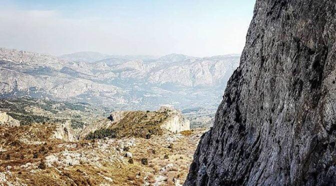 Life on the edge! Great views and spectacular paths on the Sierra Aitana  #walki…
