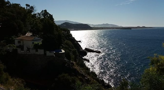 Our mid May walking group kicked off today….  Getting hot now Salobreña, Frigi…