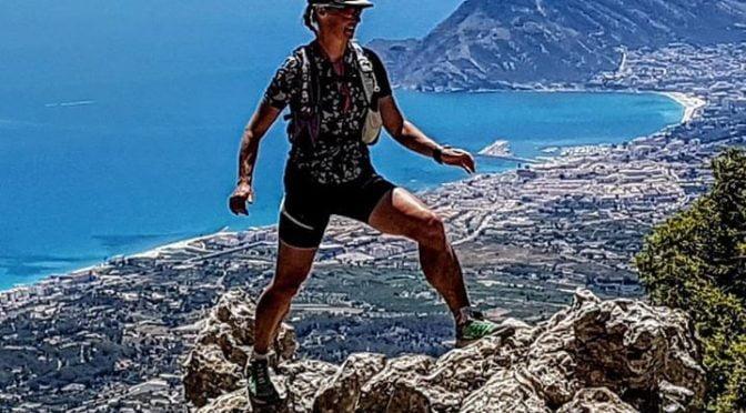 High above the Mediterranean on the Sierra Bernia circuit. Amazing views!  #trai…