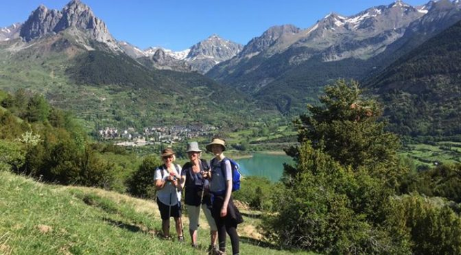 Out on Punta de Pacino today. One of my favourite hikes in the Valle de Tena and…
