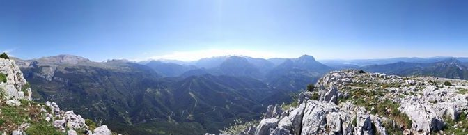 (Ken) Tough day on the office for me today; researching hikes in the Ainsa regio…