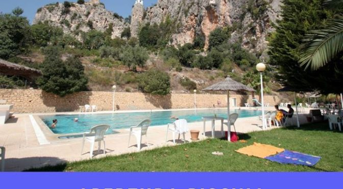 The superb swimming pool in Guadalest is now open for the summer. Rarely busy, a…