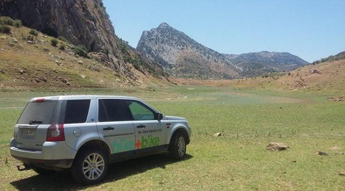 The Hundidero valley and abandoned dam near Montejaque in the Serrania de Ronda….