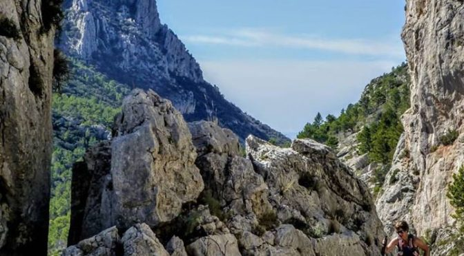 The path from the Puig Campana to the Col de Llam covers some easy but exciting …