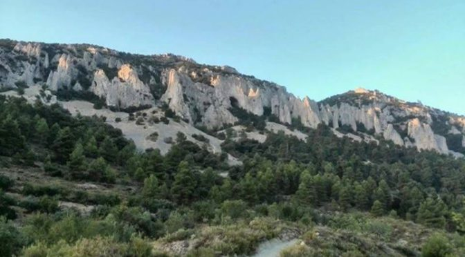 Valient ladies tackle the Sierra Serrella early on a July morning and are reward…