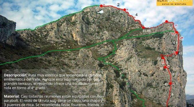 A great new guidebook out for classic easy ridges.ARISTA AL FORAT DE LA FORADÀ (…