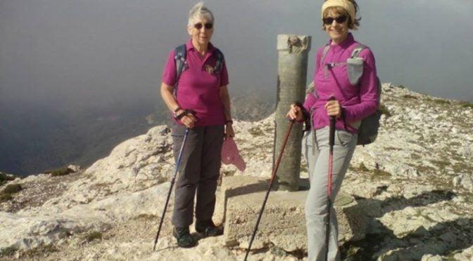 At the summit. Malla de Llop on the Sierra Serrella..  #Spain  #hike  #MountainW…