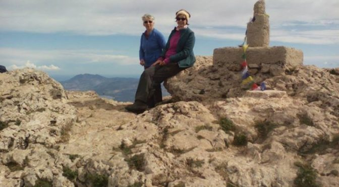 Another day, another peak.  Montcabrer on the Sierra Mariola.