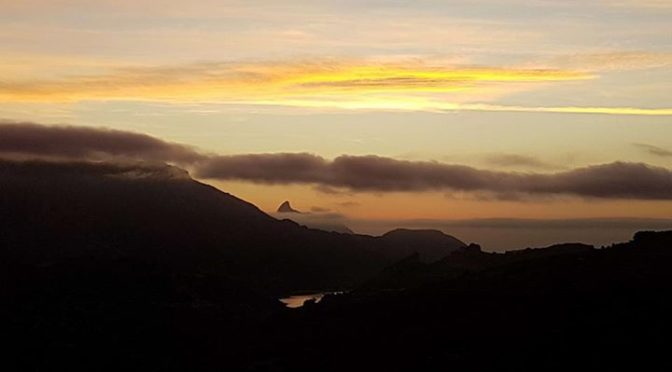 A great sunrise this morning and more to follow for the lucky Keswick runners wh…