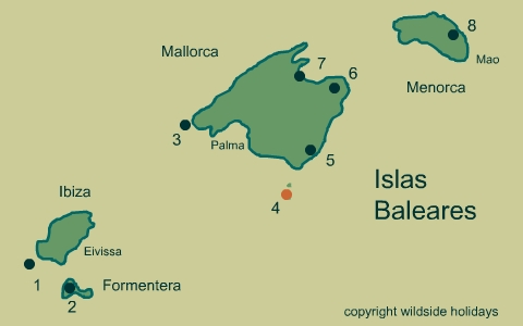 Natural Parks in Spain - Balearic Islands