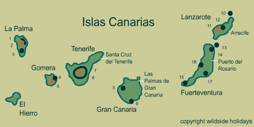 Natural Parks in Spain - Canary Islands