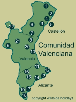 Natural Parks in Spain - Valencia