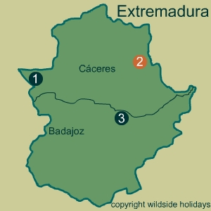 Extremadura has two Natural Parks and one National Park